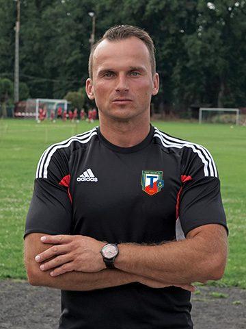 Wojciech Gucwa - Trener MKS Tarnovia