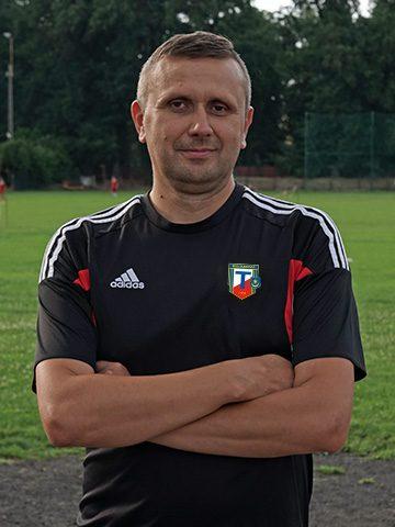 Marek Lis - Trener MKS Tarnovia