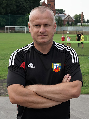 Mariusz Żaba - Trener MKS Tarnovia