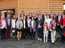 Parlamentarzyści i przedsiębiorcy spotkali się z piłkarkami Tarnovii