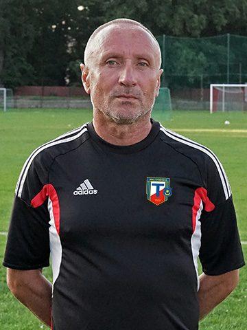 Janusz Kuboń - Trener MKS Tarnovia